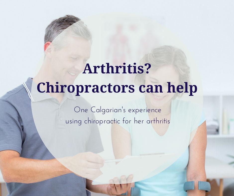 Arthritis? Chiropractors can help
