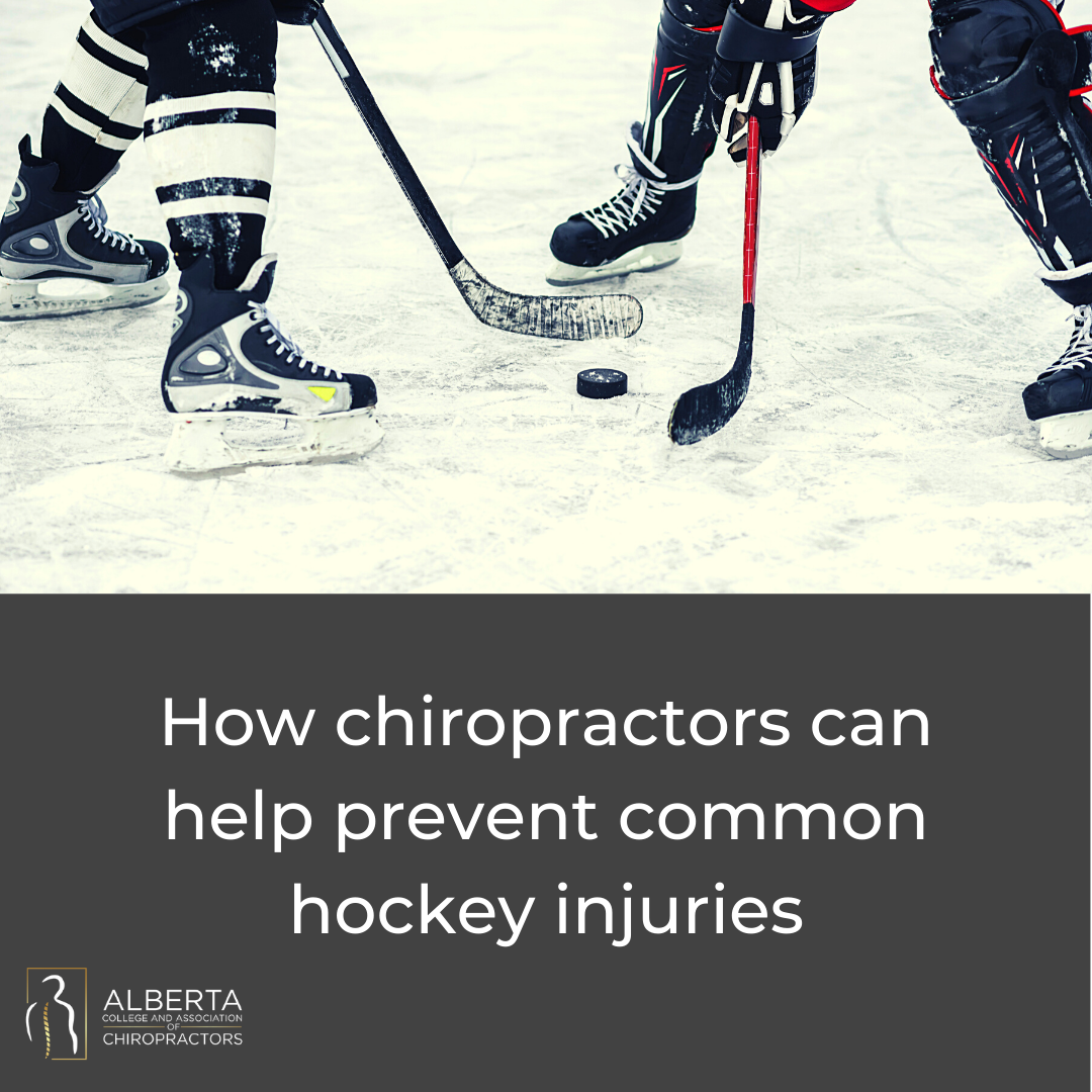 How chiropractic can help prevent common hockey injuries