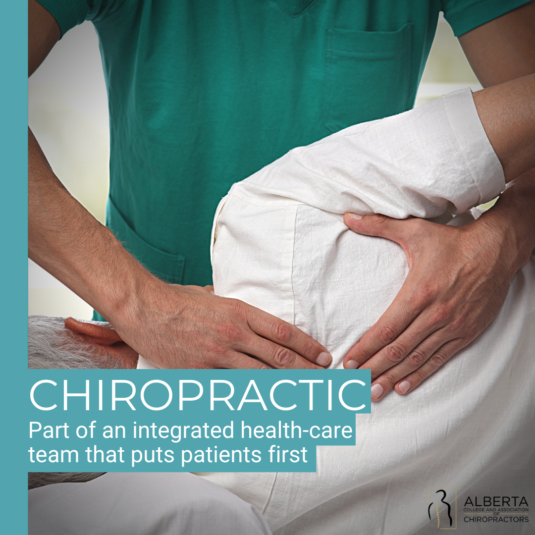 Chiropractic: part of an integrated health-care team that puts patients first