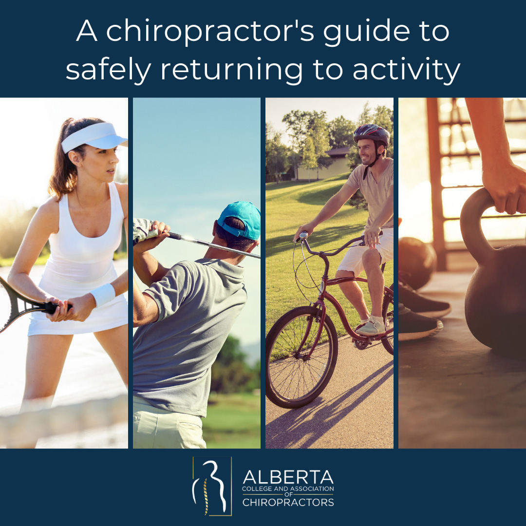 A chiropractor's guide to safely returning to activity